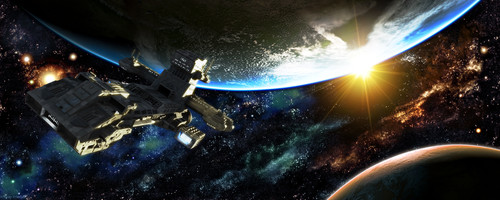 Spacescape by Kevin