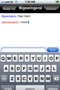 IPhone Chat
